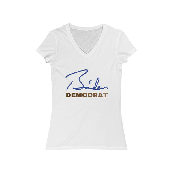 Biden Democrat People of Color Signature Collection - Women's V-Neck
