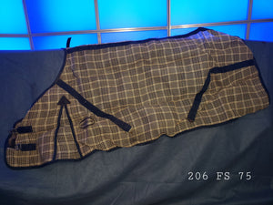 FLY SHEET - SHEDROW PLAID SIZE 75