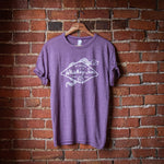 Heather Purple Diamond Snake Tee