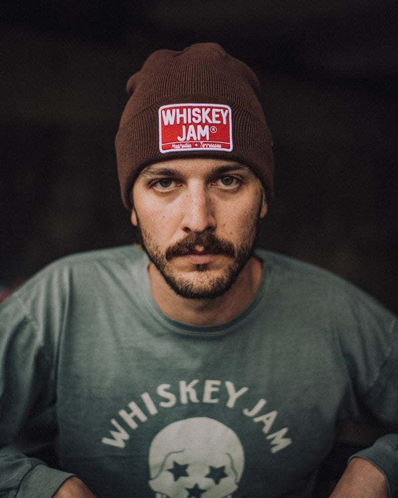 Brown Tractor Beanie