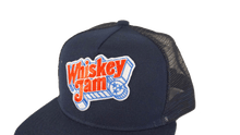 Navy Blue Trucker
