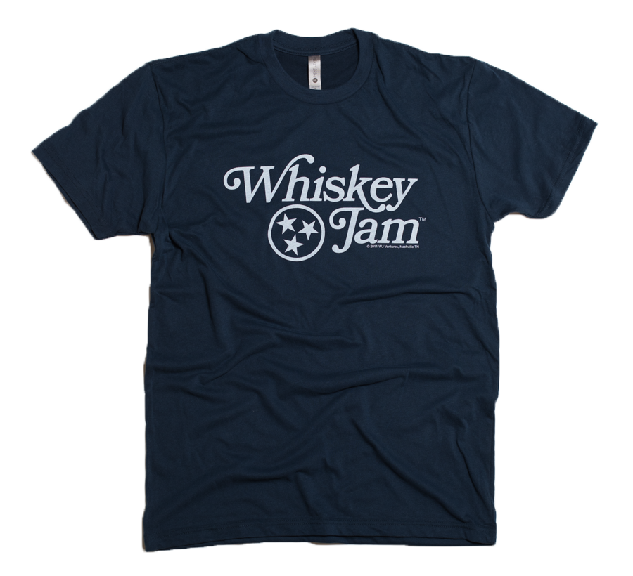Navy Retro WJ Tee