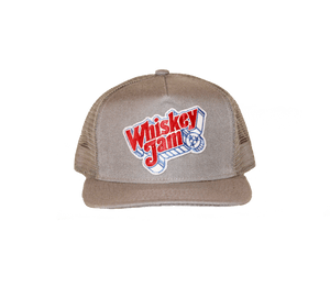 Whiskey Jam Grey Trucker