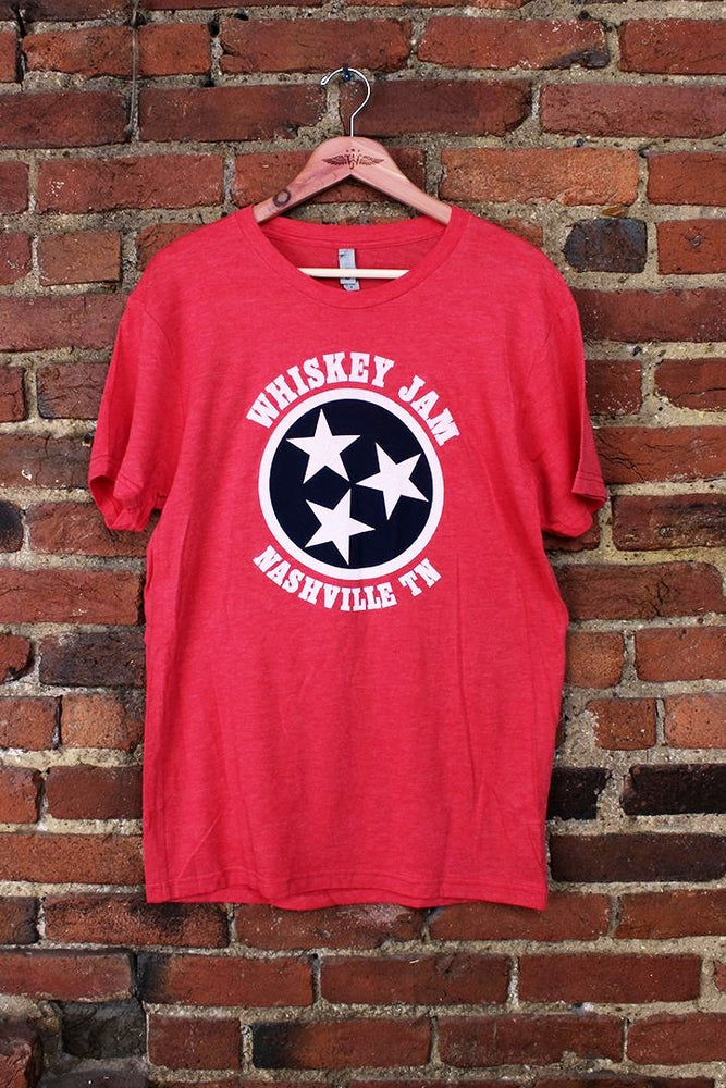 Vintage Red + Navy New Classic Tee