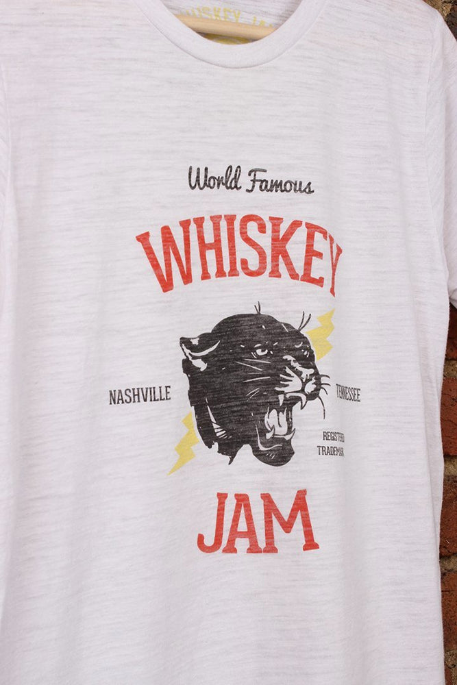 Whiskey Jam WHITE Electric Panther