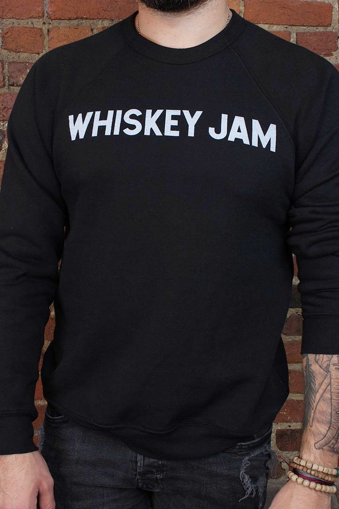 Whiskey Jam Varsity Black