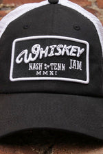 WJ MMXI Black & White Trucker