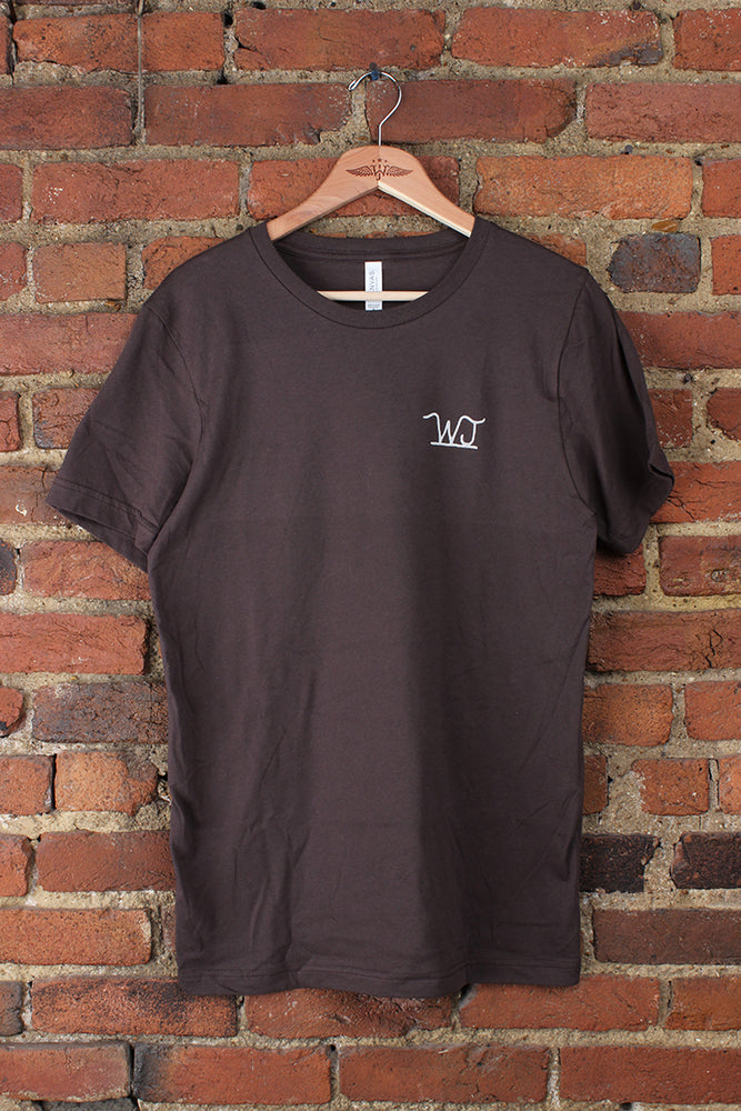 Brown Bottle Back Tee