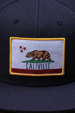 Caliville Navy Blue Hat