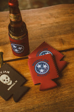 Skull Can Koozie