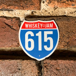Highway 615 Sticker
