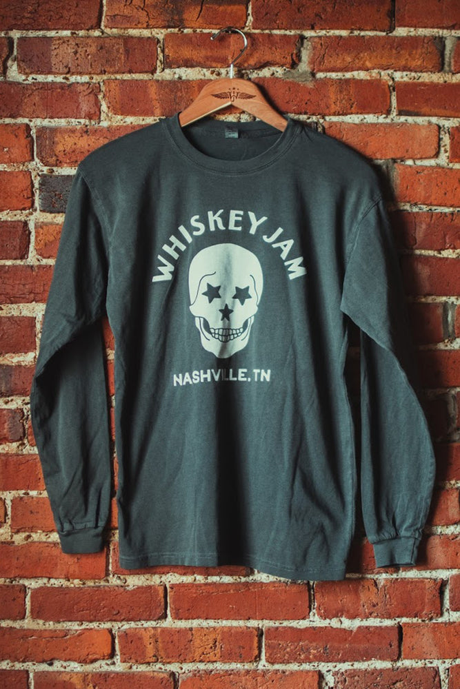 Grey Skull Long Sleeve
