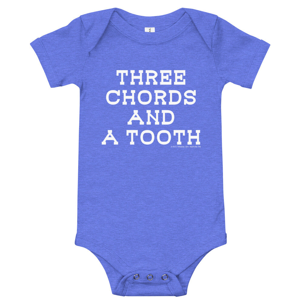 WJ Artist Series - Three Chords and a Tooth Onesie