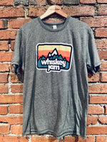 Heather Grey Mountain Man Tee
