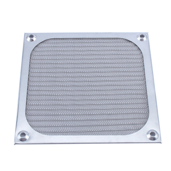 120mm Fan Aluminum Dustproof Cover Dust Filter for PC Cooling Chassis Fan Grill Guard - Hardware Sense
