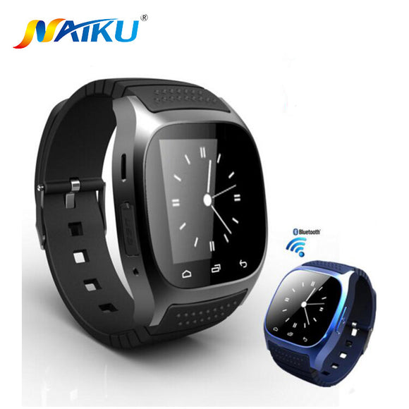 Waterproof Smartwatch M26 Bluetooth Smart Watch With LED Alitmeter Music Player Pedometer For Android Smart Phone T30 - Hardware Sense