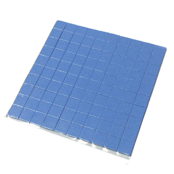 2017 high quality 10mm*10mm*1mm 100 pcs Thermal Pad GPU CPU Heatsink Cooling Conductive Silicone Pad - Hardware Sense