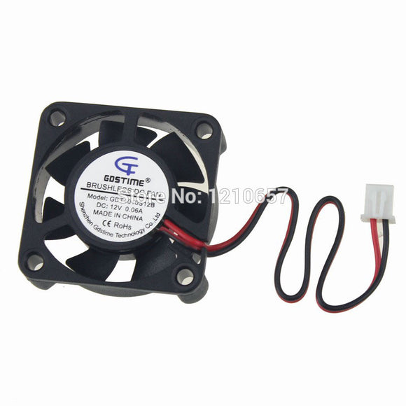 10PCS LOT Gdstime Cooler 40 x 40 x 10mm 4010s DC 2Pin 12V 40mm Computer Cooling Fan - Hardware Sense