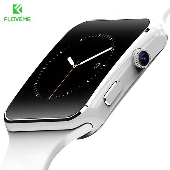 FLOVEME Fashion Smart Watch For Android Phone Support TF Card 32GB Sim Bluetooth Smartwatch 1.54'' HD OGS Fitness Wrist Bracelet - Hardware Sense