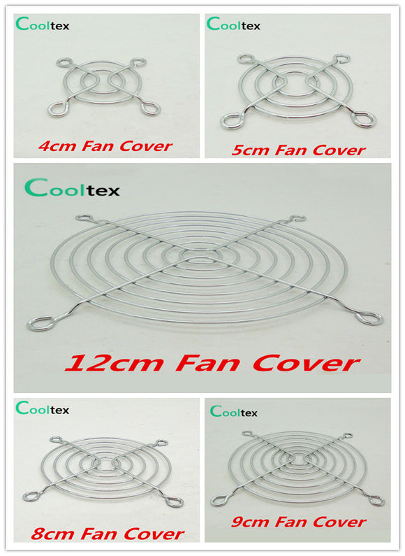 100% New  Fan Cover Shield  Iron Net  Protection Net  Dust Filter Protective Grille For Dc&ac Fans Cooling - Hardware Sense