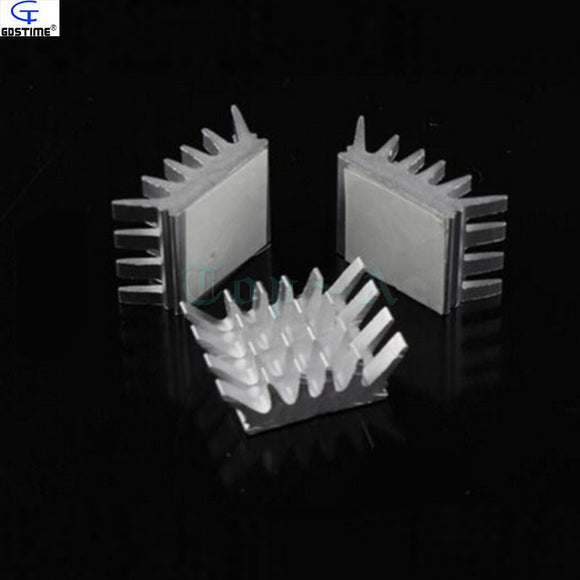 (8 pieces/lot) Aluminum Heatsink PC VGA Card Xbox360 PS DDR RAM Memory Heat Sink Cooling Cooler - Hardware Sense