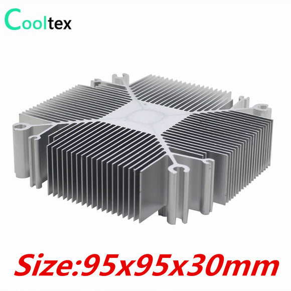 2015 DIY LED Heatsink 30w-100w Pure aluminium heat sink radiator for Led Light  cooler cooling - Hardware Sense