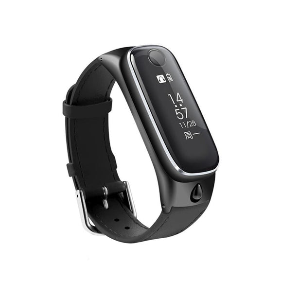 NEW clock smartwatch Bracelet Sports Smartband Bluetooth Smart watches Headset headphones For IOS for Android TOP QUALITY DEC27 - Hardware Sense