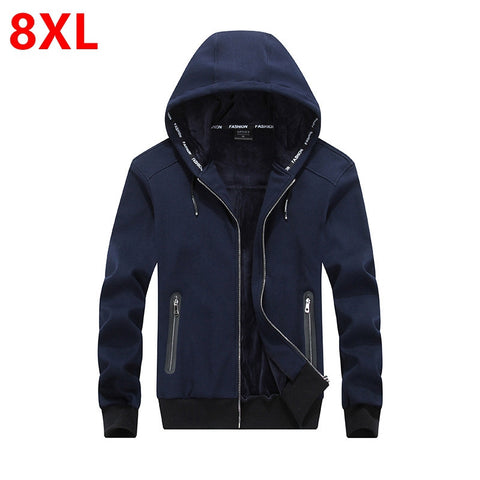 winter hooded for men