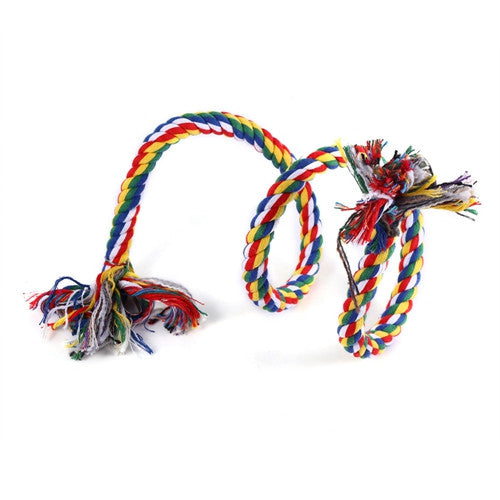 Parrot Toy Rope Braided Pet Parrot Chew Rope