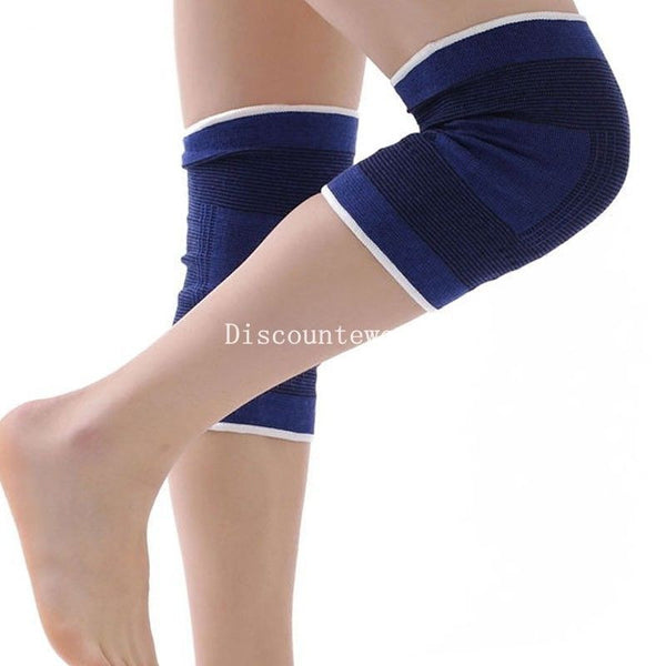 1 Pair GOOD Quality Breathable Sports Elastic Knee Support Pad