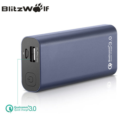 BlitzWolf BW-P4 5200mAh Power Bank Portable For iPhone