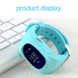 Hot Sale Q50 Kids Smart Watch with LBS Positioning LCD Color Display