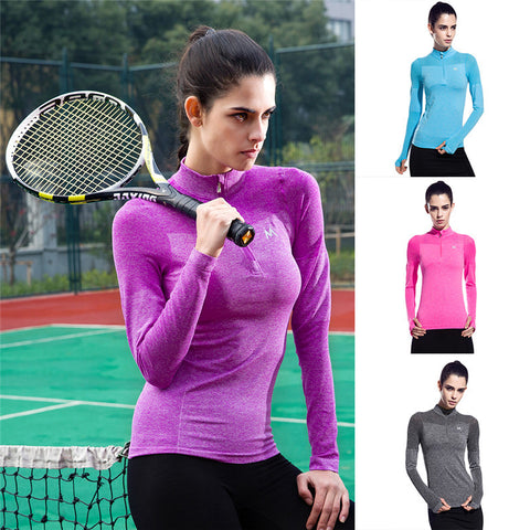 Women Tennis wear Tight Jacket