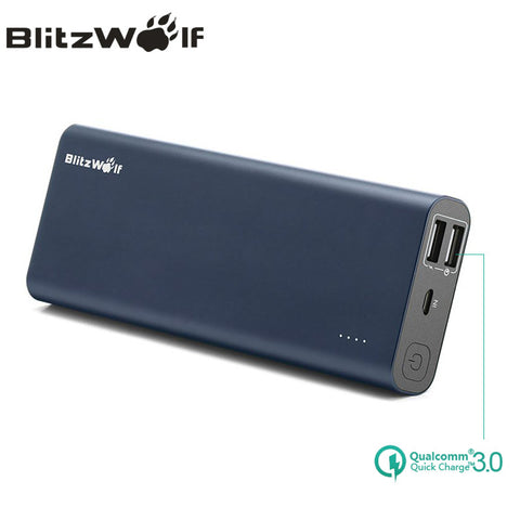 BlitzWolf BW-P5 15600mAh Quick Charge QC3.0 Dual USB Portable External Battery Charger