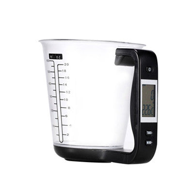 LED Cup Shape Digital Electronic Scales Measuring Tool