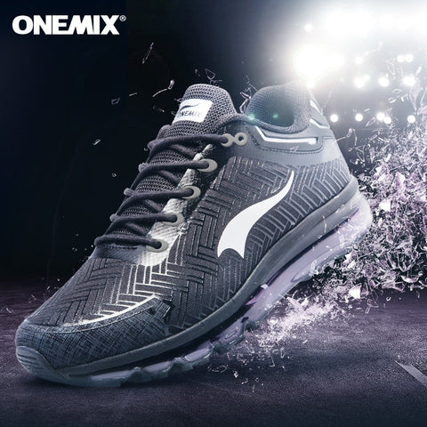 Onemix men's running light jogging shoes
