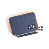 Waterproof 2 Layer USB Cable Storage Bag Electronic Organizer and Digital Gadget Case