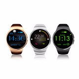 Original KW18 Full Round IPS Heart Rate Smart Watch for IOS and Android