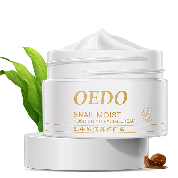 Skin Care Face Moisturizer SNAIL Nourishing Cream