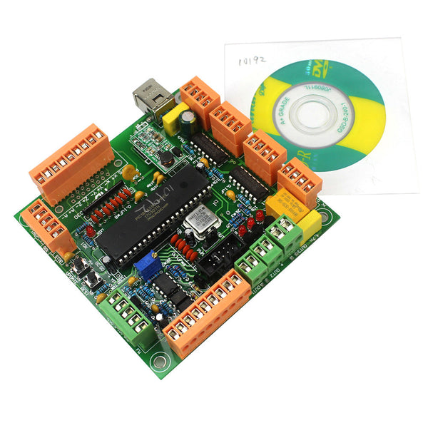 Integrated Circuit 4 Axis USB CNC Controller Interface Board