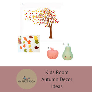 OUR GUIDE TO AUTUMN DECOR FOR KIDS ROOMS