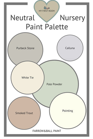 Nursery paint colour inspiration.
