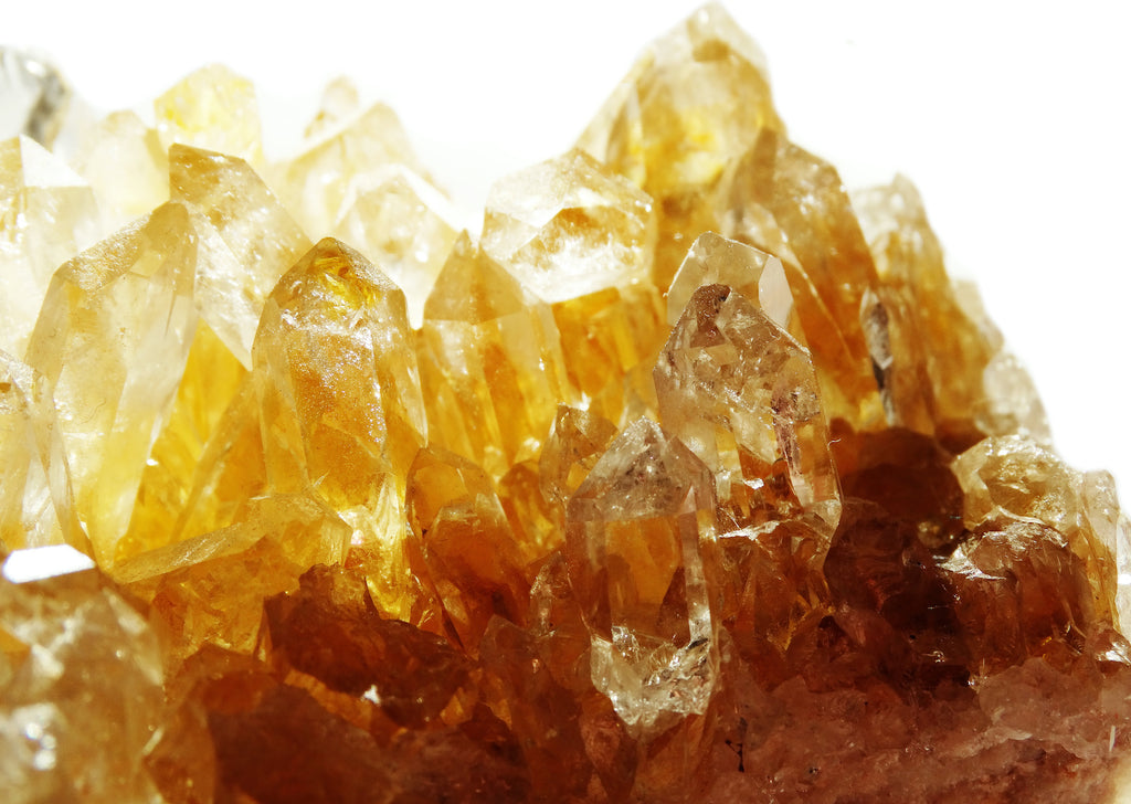 Citrine crystal structure