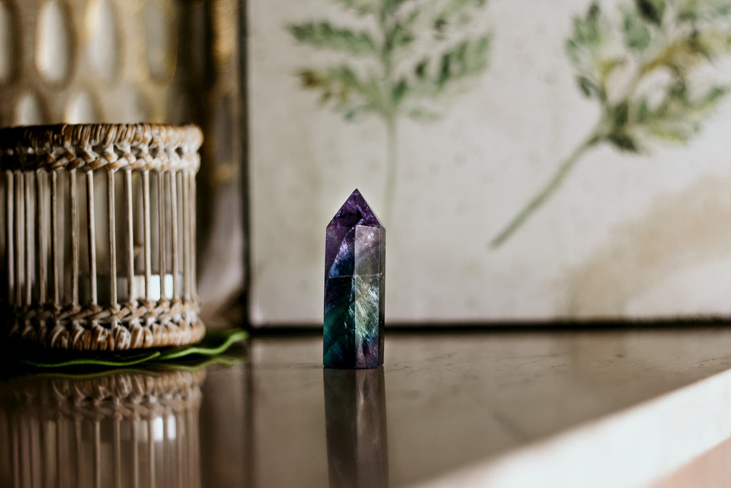 fluorite cleansing stone