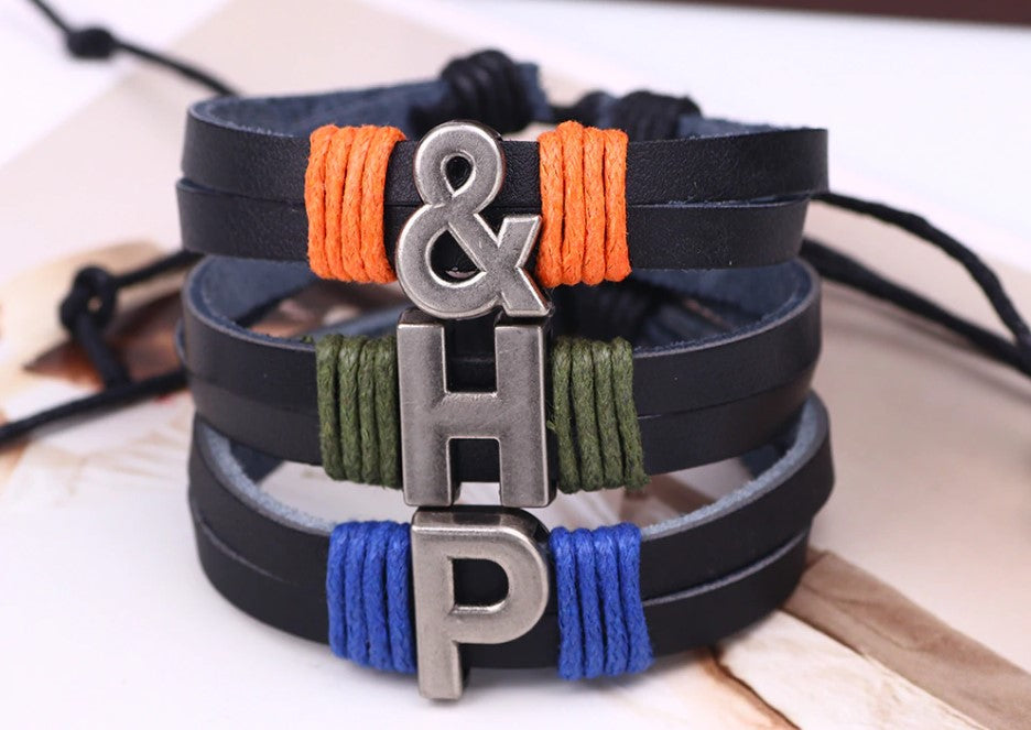 initial bracelets for couples