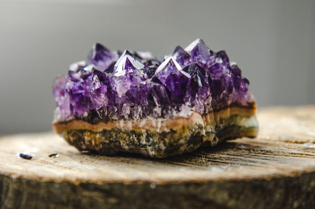 Crystals for anxiety: Amethyst