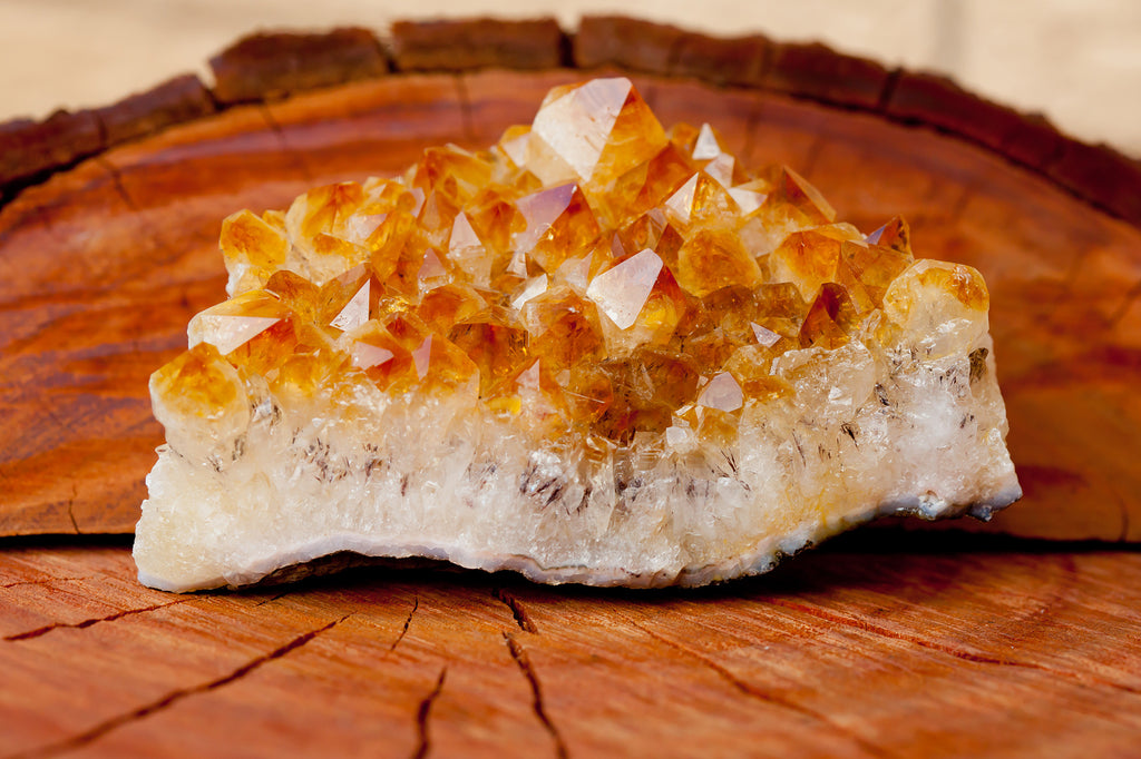 Crystals for anxiety: Citrine