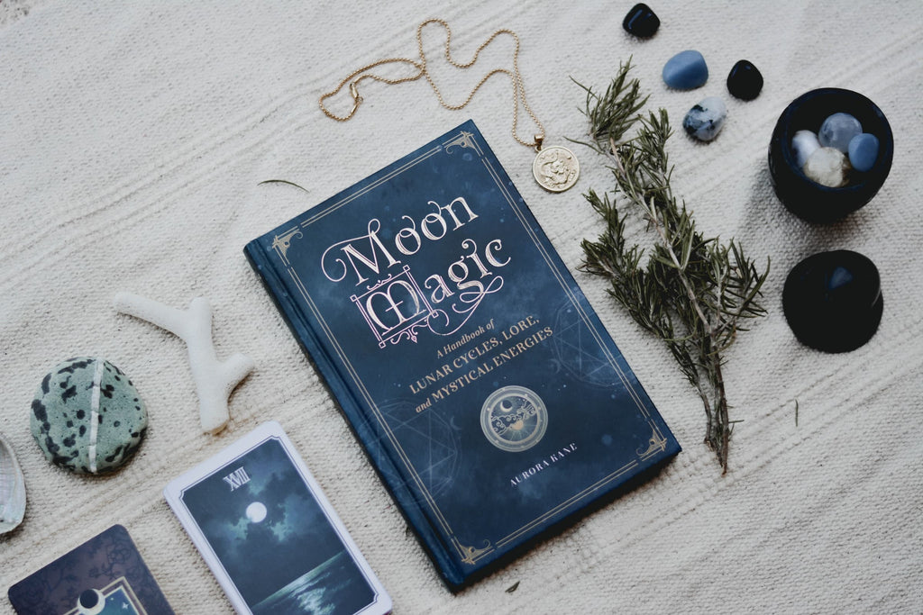 modern witch moon crystals