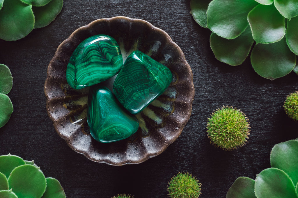 Crystals for anxiety: Malachite
