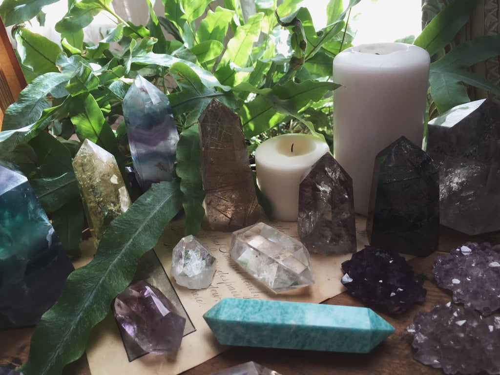 crystals for plants